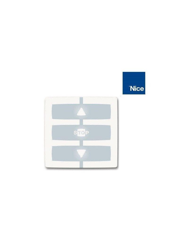 T/él/écommande WM001G NICE mont/ée//stop//descente NICE Emetteur NiceWay 1 automatisme