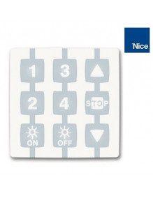 NiceWay WM004G - Emetteur Nice 4 canaux - Commande capteur solaire