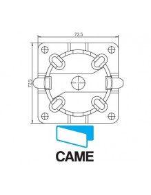 Came 001YM0116 - Support moteur Came Mondrian 5 rapide en plastique