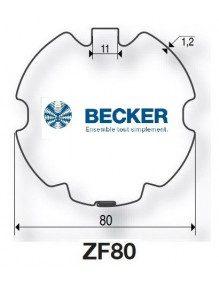 Becker R ZF 80 - Bagues moteur Becker R ZF 80