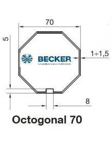 Becker R Octogonal 70 - Bagues moteur Becker R Octogonal 70