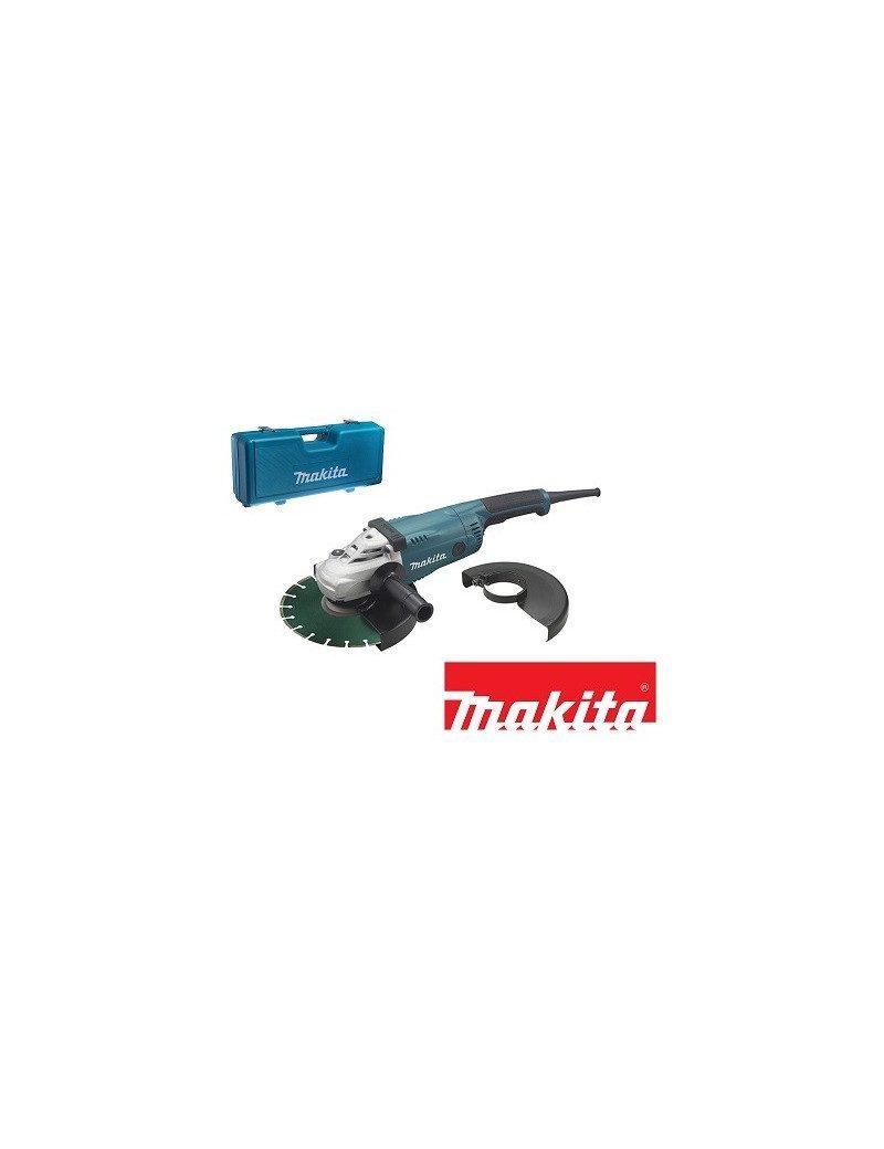 makita ga9020kdx2 meuleuse disqueuse makita 2200 w 230 mm. Black Bedroom Furniture Sets. Home Design Ideas
