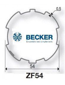 Becker R ZF 54 - Bagues moteur Becker R ZF 54