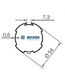 Bagues moteur Becker R Deprat 53