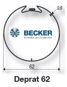Becker R Deprat 62 - Bagues moteur Becker R Deprat 62