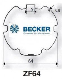 Becker R ZF 64 - Bagues moteur Becker R ZF 64