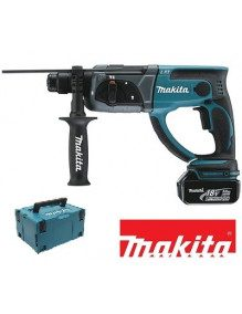 Makita DHR202RFJ - Perforateur burineur Makita SDS-Plus 18V Li-Ion 3Ah
