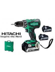 Hitachi DS18DBSL5AX3 - Perceuse visseuse Hitachi 18V 5Ah