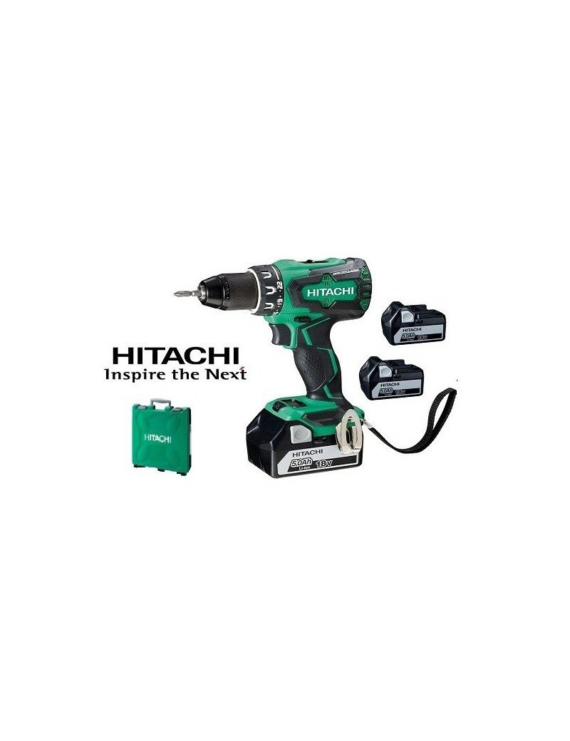 Perceuse-Visseuse Hitachi 18V - 5Ah Li-ion