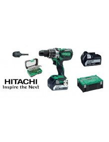 Perceuse-Visseuse percussion Hitachi DV18DBL2 18V