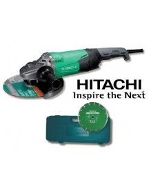 Hitachi G23SW2LR - Meuleuse disqueuse Hitachi 2200 W 230 mm