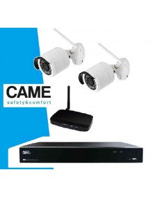 Kit Videosurveillance Came 2 cameras IP Wifi