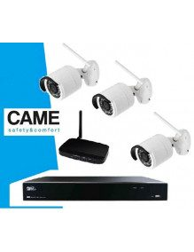 Kit Videosurveillance Came 3 cameras IP Wifi