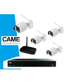 Came 001FR2276CCTV 4C - Kit Videosurveillance Came 4 cameras IP Wifi