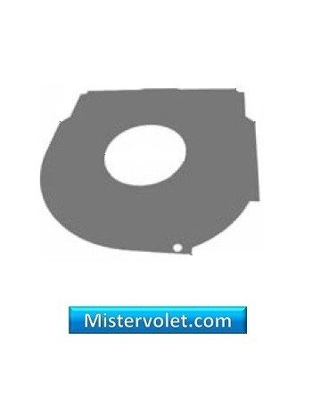 Contreplaque arrondie 180 mm - Volet roulant