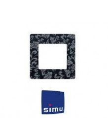 Simu 9019772 - Cadre pour emetteur Simu Hz mural Fleur de Lys