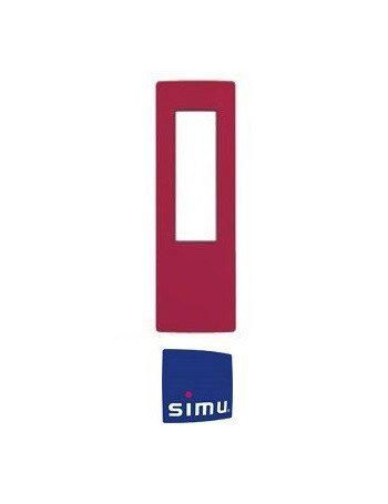 Cadre pour telecommande Simu Hz Rouge framboise
