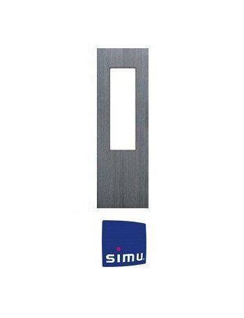 Cadre pour telecommande Simu Hz Alu brossé