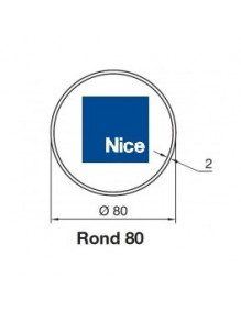 Nice 515.17800 - Bagues Rond 80 moteur Nice Era M et MH