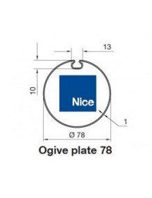 Nice 515.17800 - Bagues Ogive plate 78 moteur Nice Era M et MH