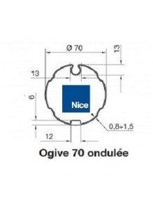 Nice 515.17000 - Bagues Ogive 70 ondulé moteur Nice Era M et MH