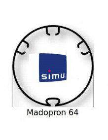 Simu 9521027 - Bagues Rond lisse 64 moteur Simu T5 - Dmi5