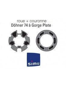 Bagues Donher 74 moteur Simu T5 - Dmi5