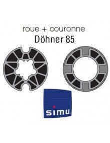 Simu 9521008 - Bagues Donher 85 moteur Simu T5 - Dmi5