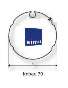 Simu 9521000 - Bagues Imbac 70 moteur Simu T5 - Dmi5