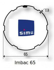 Simu 9521017 - Bagues Imbac 65 moteur Simu T5 - Dmi5