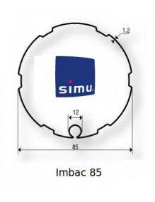 Simu 9530109 - Bagues Imbac 85 moteur Simu T6 - Dmi6