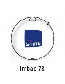 Simu 9530115 - Bagues Imbac 78 moteur Simu T6 - Dmi6