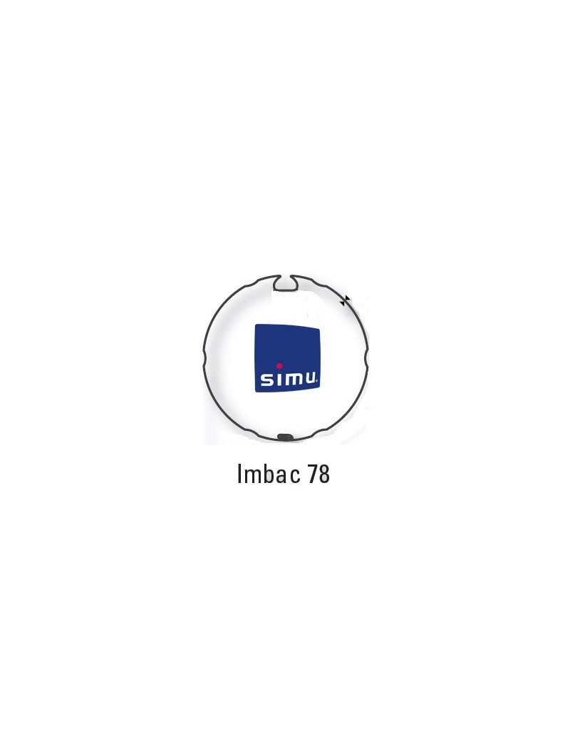 Bagues Imbac 78 moteur Simu T6 - Dmi6
