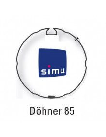 Simu 9530108 - Bagues Dohner 85 moteur Simu T6 - Dmi6