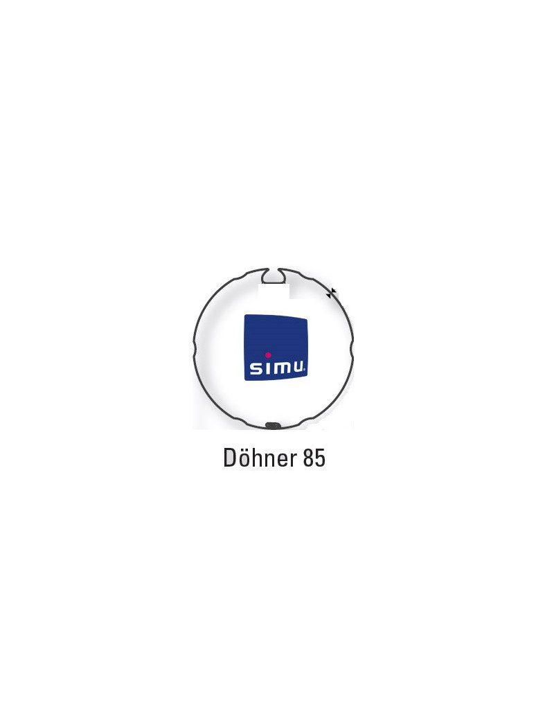 Bagues Dohner 85 moteur Simu T6 - Dmi6