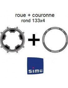 Bagues Rond 133x4 Simu T6 - Dmi6