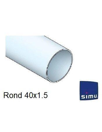 Simu 9001497 - Bagues Rond 40x1.5 moteur Simu T3.5