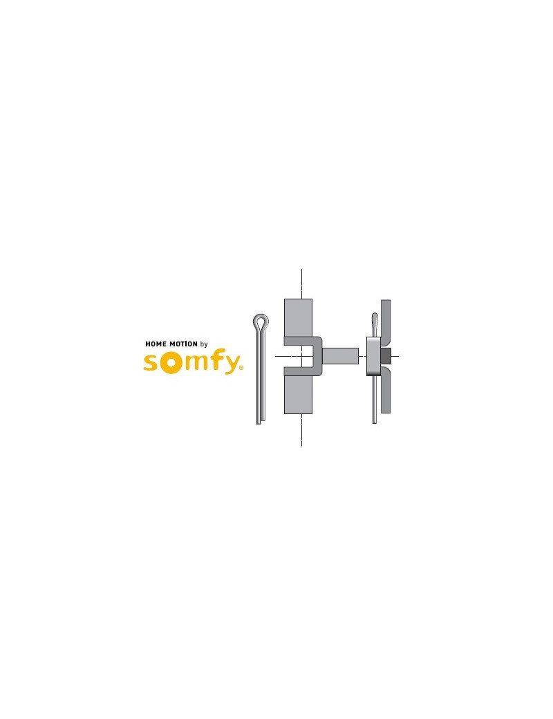 Support moteur Somfy LS40 etrier