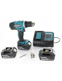 Makita DDF453SFE3 - Perceuse visseuse Makita 18V Li-Ion 3Ah