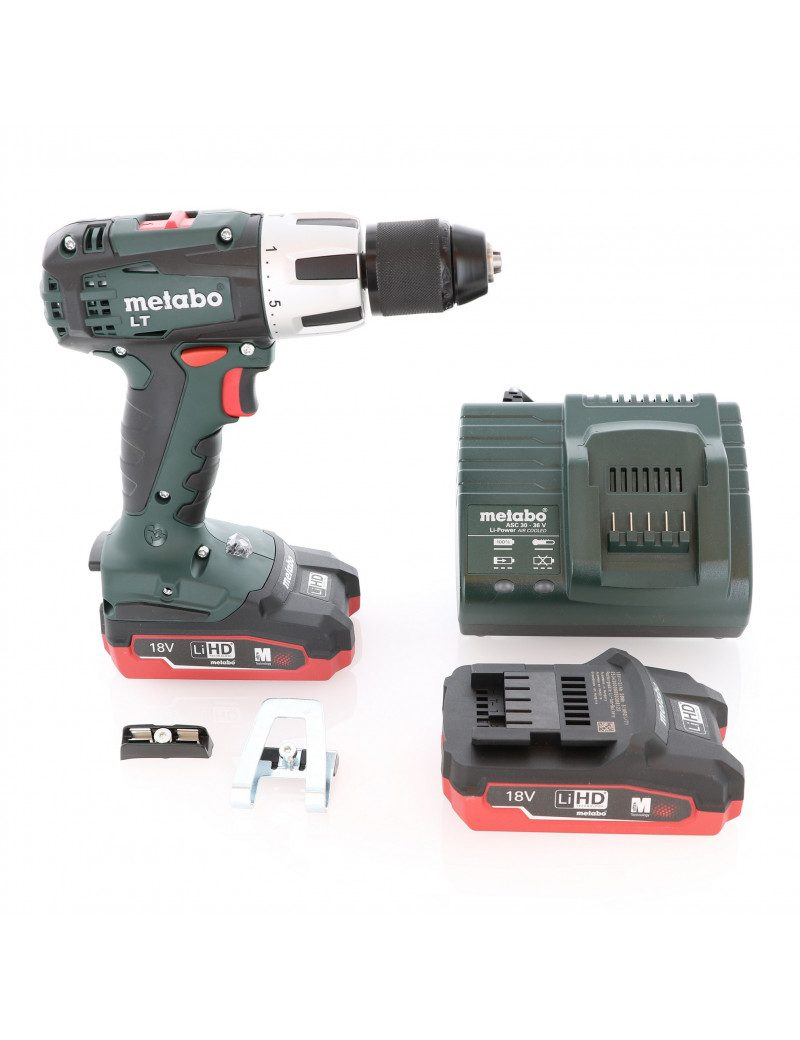 Metabo SB18LT - Perçeuse visseuse à percussion Metabo 18V 3.1 Ah