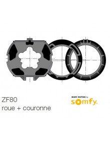 Bagues ZF80 moteur Somfy LT50 et LT50 CSI