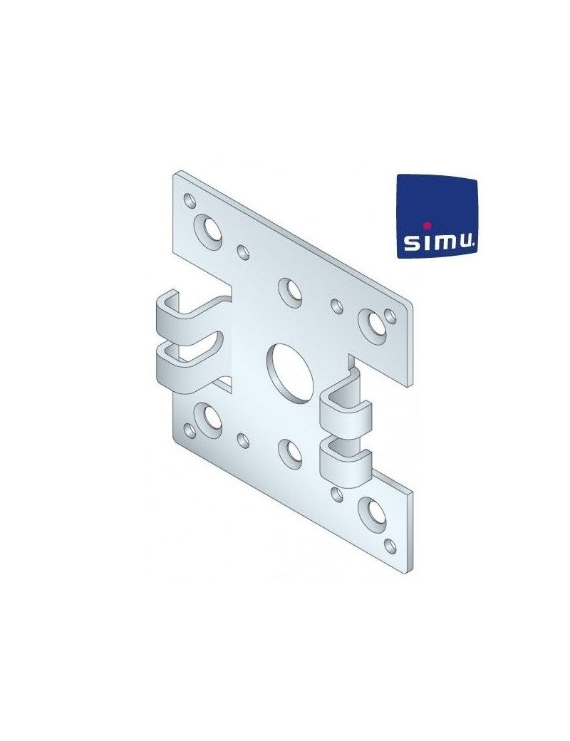 Support moteur Simu T5 Double pince
