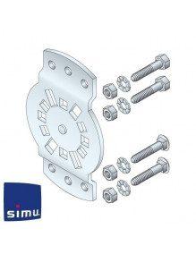 Simu 9420654 - Support moteur Simu Dmi orientable 30°