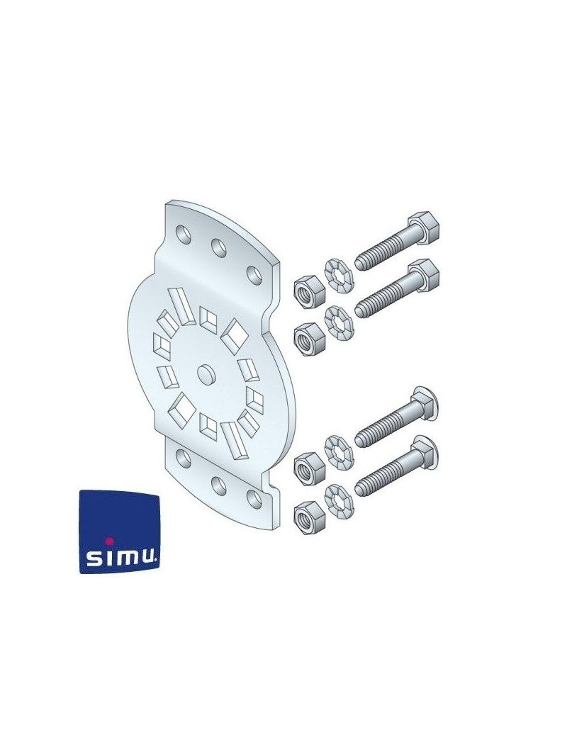 Support moteur Simu Dmi orientable 30°