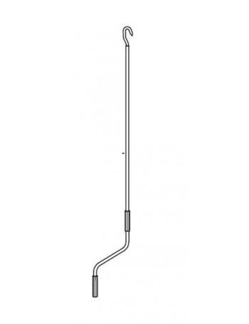 Manivelle à crochet 3000 mm pour volet roulant