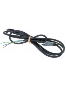 Somfy 9001653 - Cable noir Somfy moteur radio H05RRF 2.5M