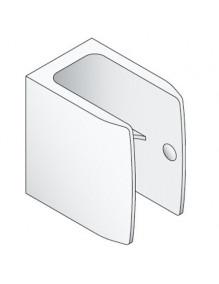 Simu 2008081 - Clip de manivelle blanc - Volet roulant et store