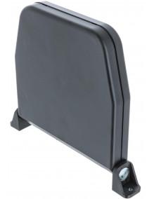 Enrouleur à cordon 4m/4mm marron OPO204-002