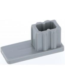 Arrêt bas gris coulisse volet roulant ARG010-004