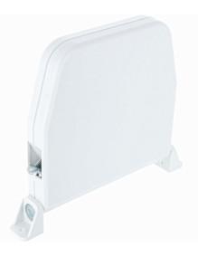 Enrouleur à cordon 4m/4mm blanc OPO204-001